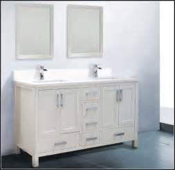 60 inch double sink vanity white sinks and faucets