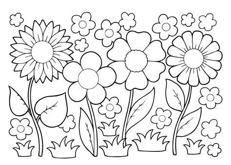 Kleurplaat Bloemen by Kleurplaat Bloemen 26 Superleuke Gratis Kleurplaten Bloemen