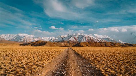Download 1920x1080 Wallpaper Desert Landscape Blue