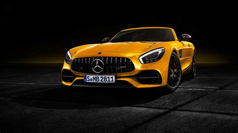 2018 Mercedes-amg Gt S Roadster 4k Wallpaper