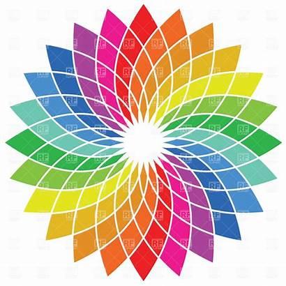 Wheel Colour Vector Clipart Colours Palette Spectrum
