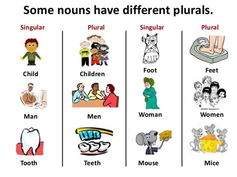Singular And Pluralnounsppt