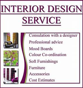 invoice free invoice templates With interior decorator designer services