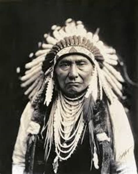 chief joseph  great nez perce leader traditional
