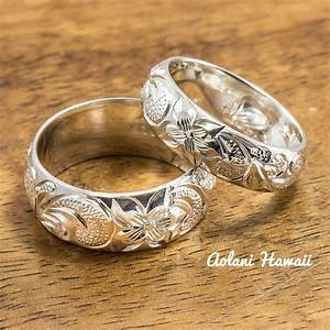 Hawaii Wedding Rings Spininc Rings
