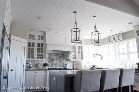 Shiplap Ceiling - all things shiplap style house interiors