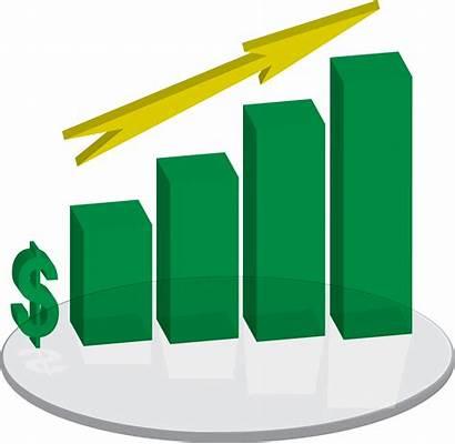 Sales Arrow Clipart Chart Clip Plinth Going