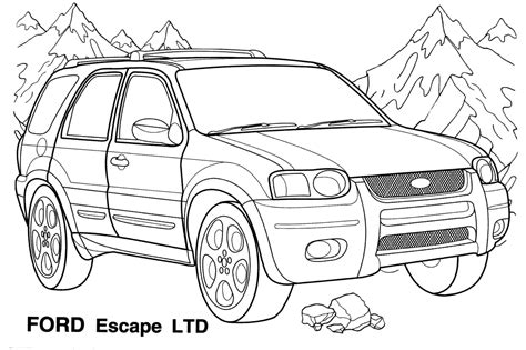 Race car coloring pages are an excellent way to introduce them to world of cars and racing through an educative learning experience. Car Coloring Sheets | Coloringpages4kidz.com