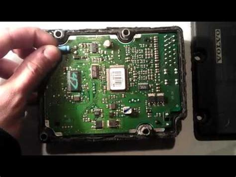 volvo  abs tracs module youtube