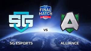 SG ESports Vs Alliance Game 2 The Final Match LAN Final