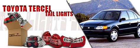 toyota tercel tail lights  andys auto sport