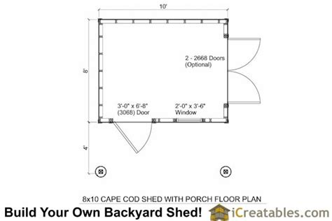 10x12 shed plans with porch cape cod shed new england