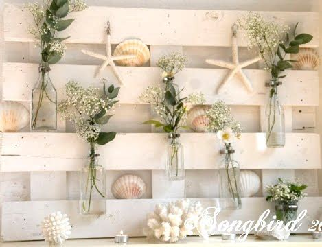 diy wood pallet decor ideas coastal style coastal decor