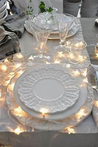 Lighted, Wedding, Table, Decorations