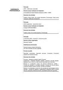 curriculum vitae romana model cv adasan adrian completat