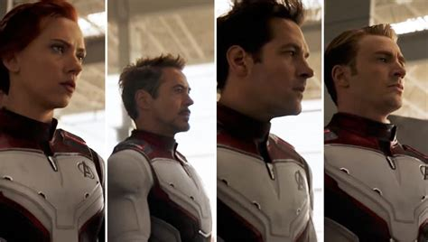 Avengers Endgame Trailer Reveals New Team Costumes Den