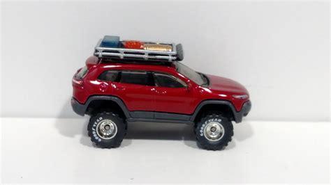 jeep matchbox 3inchdiecastbliss custom matchbox 2014 jeep cherokee