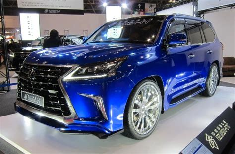 lexus lx aero kit  japan  double