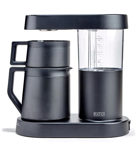 Brewing your coffee with cold water preserves delicate flavor and eliminates bitter oils and acids that would be extracted at. Ratio Six Automatic Drip Coffee Brewer - Ruby Coffee Roasters