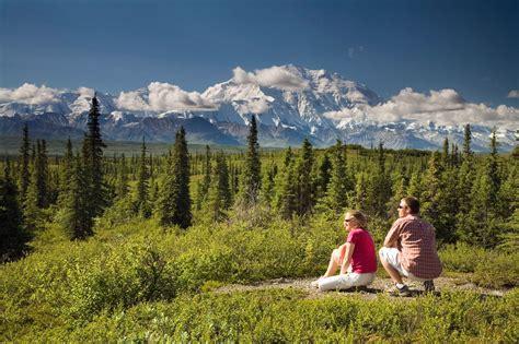 alaska national parks tour denali fjords kenai vacations rail alaskatours bus