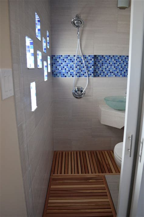 thai style micro bathroom addition modern bathroom denver