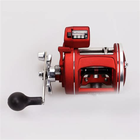 electric fishing reel  counter casting drum type reel