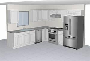 10x10 Sample Kitchen The RTA Cabinets