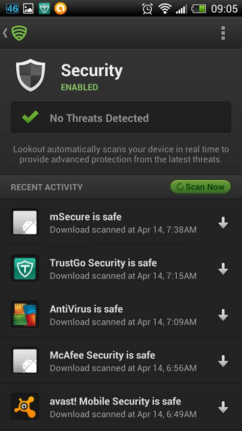 android security best android security app