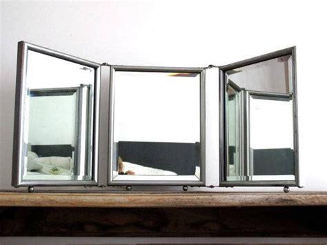 Tri Fold Bathroom Wall Mirror by 15 Photo Of Folding Wall Mirrors