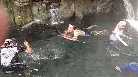 wisata guci indah tegal pemandian air panas youtube