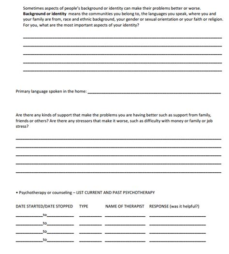 biopsychosocial assessment template 5 biopsychosocial assessment questions templates formats exles in word excel