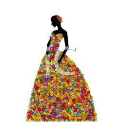 Women Dress Silhouette Clip Art