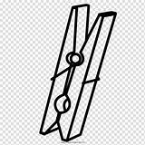Clothespin Coloring Ropa Clipart Tweezers Pinza Colorear Transparent Drawing Dibujo Clothes Clip Others Hiclipart Cartoon Similars Vector sketch template