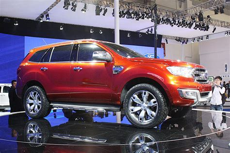 Ford Everest Concept Beijing 2018 Photo Gallery Autoblog