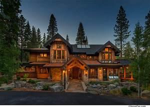 Modern Rustic Mountain Home Design. Ideas. Gombrel Home ...