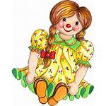 Doll Clipart Rag Clip Dolls Toy Dall