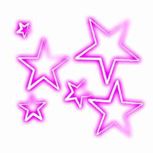 Estrellas rosas