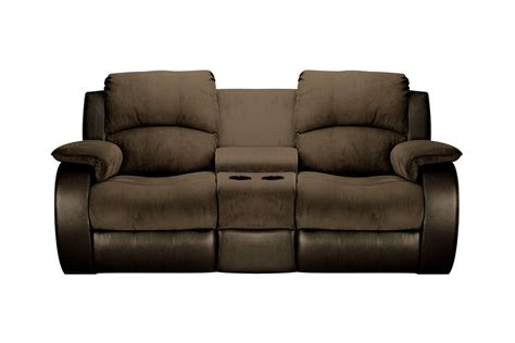 Microfiber And Loveseat lorenzo microfiber reclining loveseat with console at