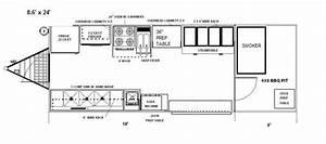 Food Truck Floor Plans