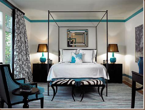 black  turquoise bedroom pandas house