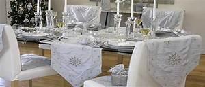 Table De Fete Decoration Noel : table de no l des id es couleurs pour une table de f te ~ Zukunftsfamilie.com Idées de Décoration