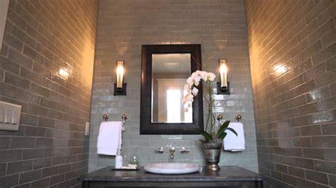 Powder Room Decorating Tip  Southern Living Youtube