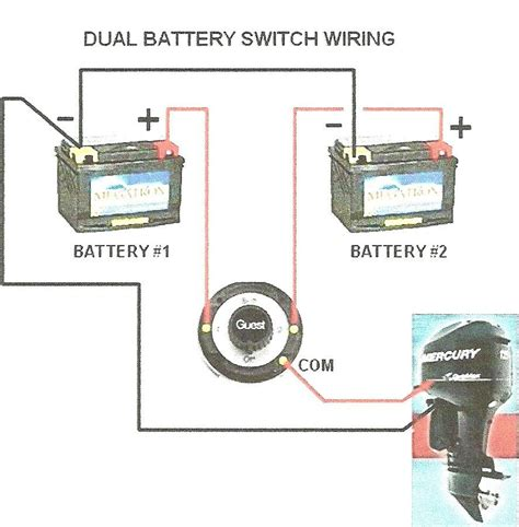 Dual Battery Setup With Switch The Hull Truth