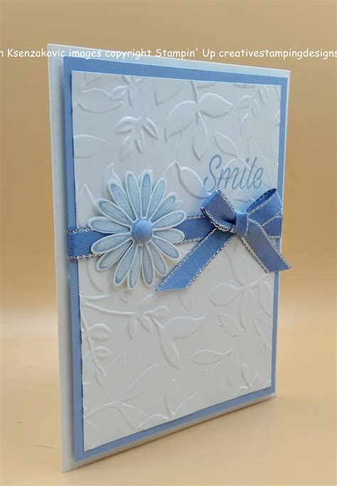 stampin  daisy lane quick  easy card creative