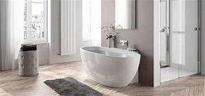 Baignoire Ilot Contre Mur : baignoire monobloc autoportante agata aquarine ~ Nature-et-papiers.com Idées de Décoration