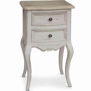 Table De Chevet Romantique : table de chevet table de chevet en bois romantique shabby chic chambre adulte ~ Melissatoandfro.com Idées de Décoration