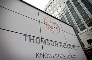 Thomson Reuters says profits rise in first quarter