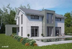 Hausfassade Weiß Anthrazit : fassadenverkleidungen fassadenverkleidungen ~ Markanthonyermac.com Haus und Dekorationen