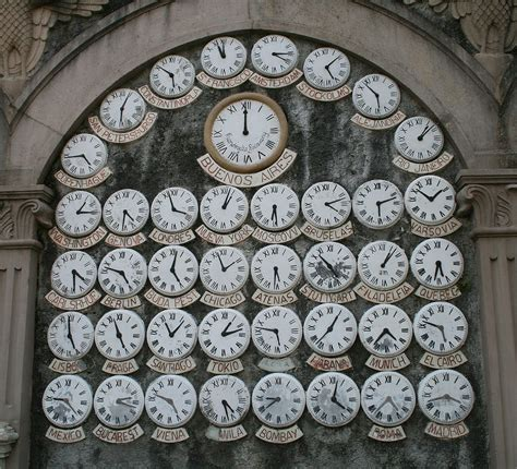exploring world clocks photo gallery