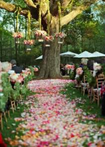 outside wedding decorations 69 outdoor wedding aisle decor ideas happywedd